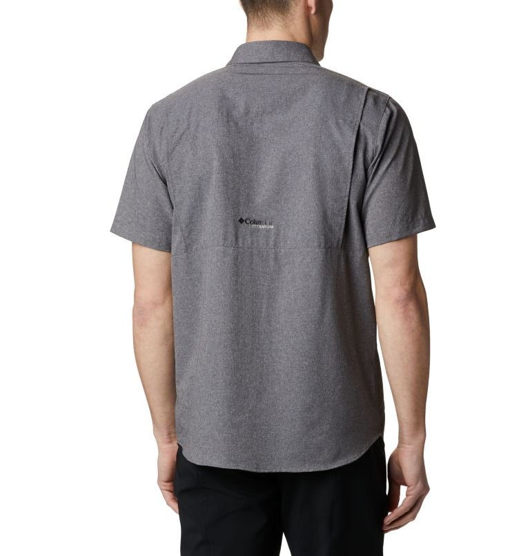 Irico™ Men's Short Sleeve Shirt | 023 | XL Men's Irico™ Short Sleeve Shirt, City Grey, back