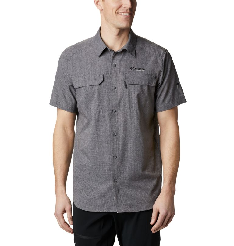 Irico™ Men's Short Sleeve Shirt | 023 | XL Men's Irico™ Short Sleeve Shirt, City Grey, front