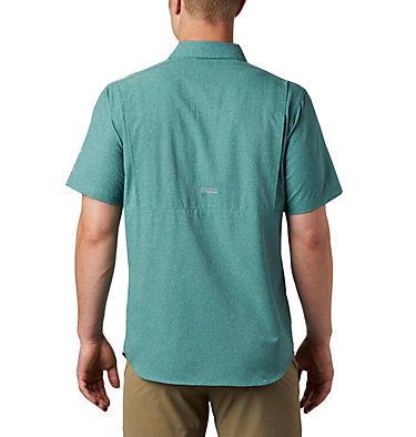 Men's Irico™ Short Sleeve Shirt Irico™ Men's Short Sleeve Shirt   369   M, Thyme Green, back