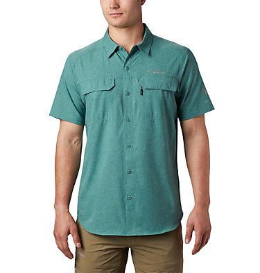 Men's Irico™ Short Sleeve Shirt Irico™ Men's Short Sleeve Shirt   369   M, Thyme Green, front