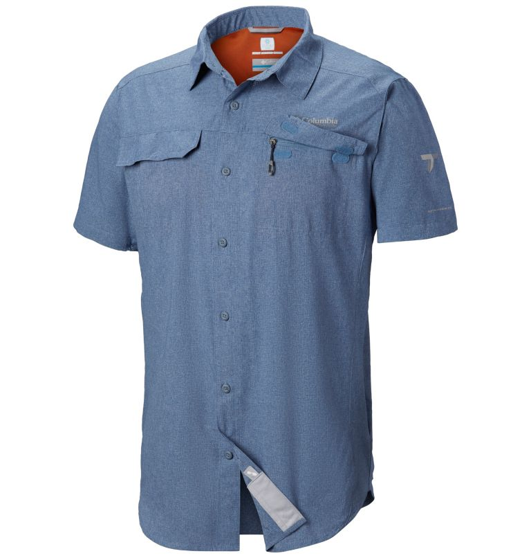 Irico™ Men's Short Sleeve Shir | 441 | S Men's Irico™ Short Sleeve Shirt, Mountain Heather, a1