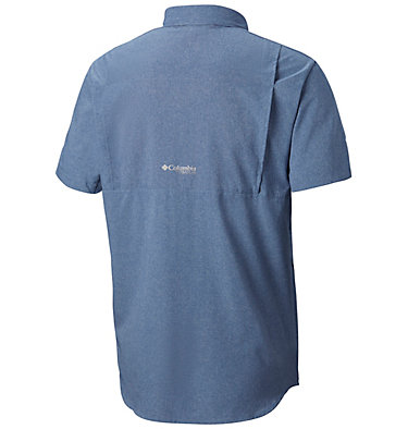 Men's Irico™ Short Sleeve Shirt Irico™ Men's Short Sleeve Shir | 011 | S, Mountain Heather, back
