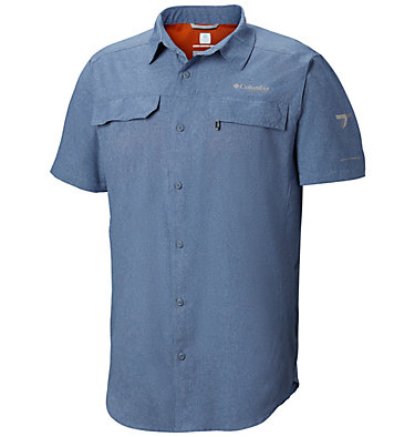 Men's Irico™ Short Sleeve Shirt Irico™ Men's Short Sleeve Shir | 011 | S, Mountain Heather, front