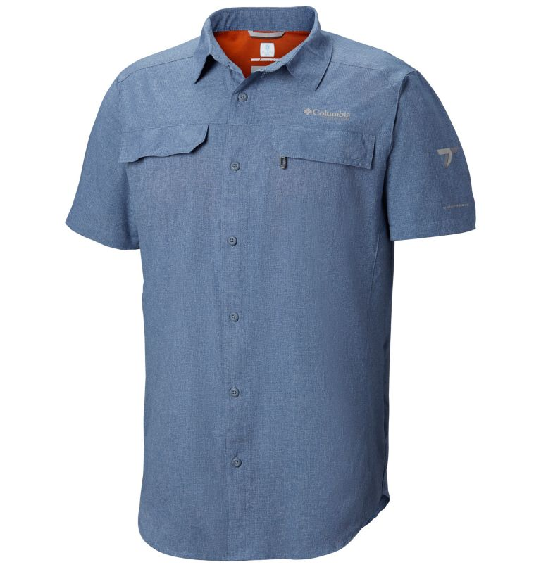 Irico™ Men's Short Sleeve Shir | 441 | S Men's Irico™ Short Sleeve Shirt, Mountain Heather, front