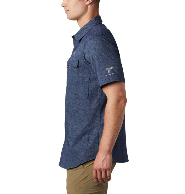 Irico™ Men's Short Sleeve Shirt | 465 | M Men's Irico™ Short Sleeve Shirt, Collegiate Navy, a1