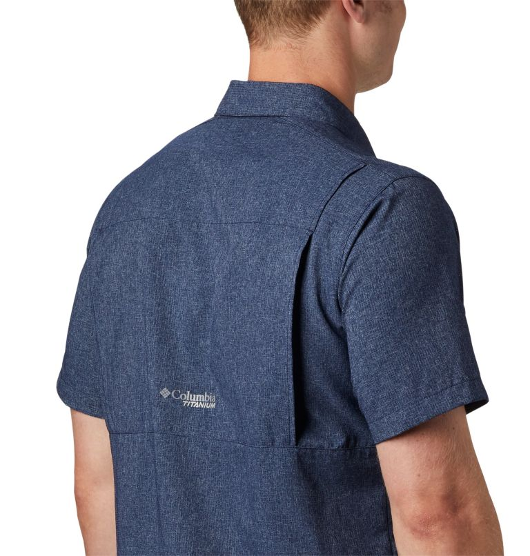 Irico™ Men's Short Sleeve Shirt | 465 | M Men's Irico™ Short Sleeve Shirt, Collegiate Navy, a2