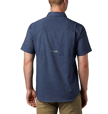 Men's Irico™ Short Sleeve Shirt Irico™ Men's Short Sleeve Shir | 011 | S, Collegiate Navy, back