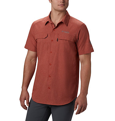Men's Irico™ Short Sleeve Shirt Irico™ Men's Short Sleeve Shir | 011 | S, Carnelian Red, front
