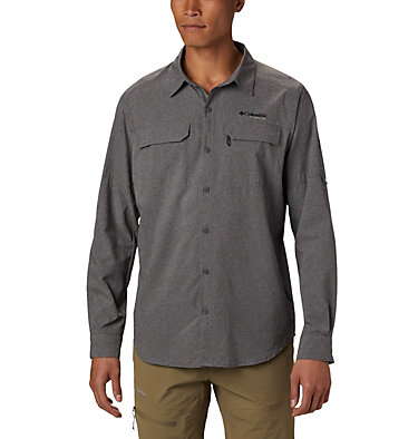 Chemise Irico™ Homme Irico™ Men's Long Sleeve Shirt | 441 | S, City Grey, front
