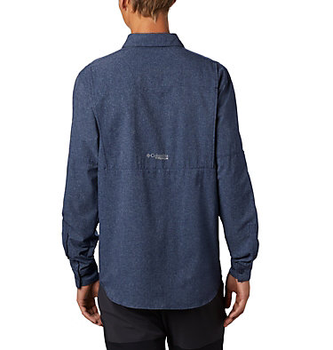 Men's Irico™ Long Sleeve Irico™ Men's Long Sleeve Shirt | 835 | XL, Collegiate Navy, back