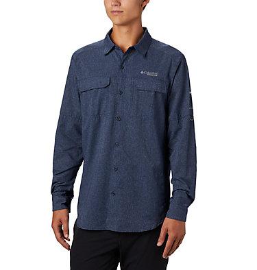 Men's Irico™ Long Sleeve Irico™ Men's Long Sleeve Shirt | 835 | XL, Collegiate Navy, front