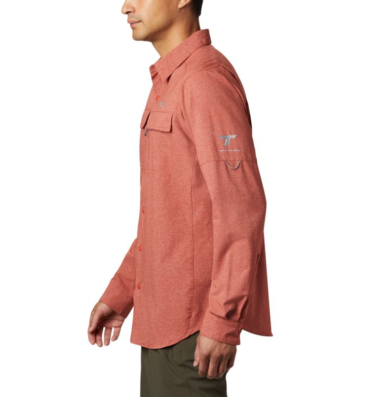 Irico™ Men's Long Sleeve Shirt | 835 | S Chemise Irico™ Homme, Carnelian Red, a1