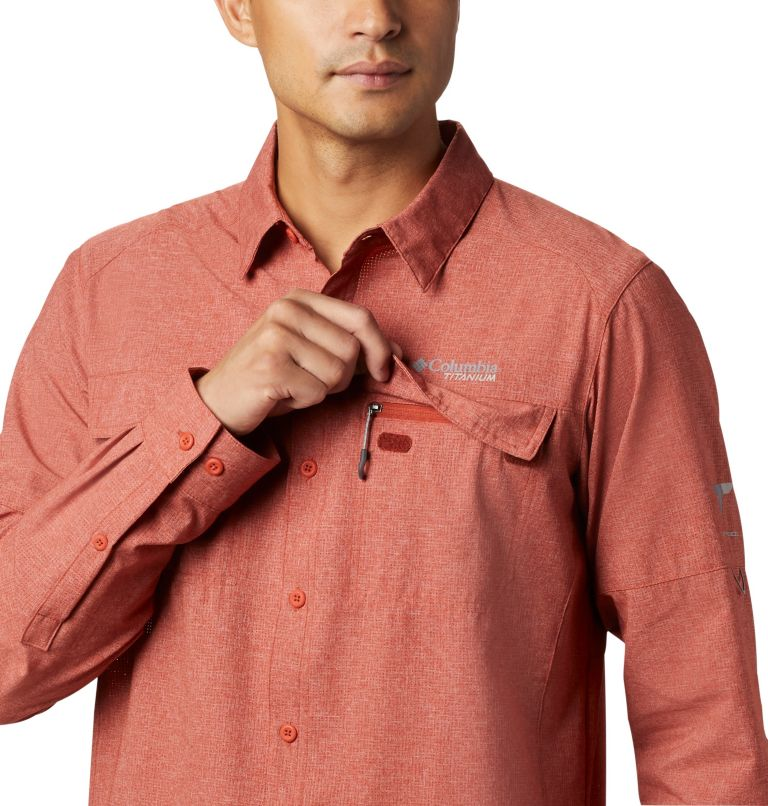 Irico™ Men's Long Sleeve Shirt | 835 | S Chemise Irico™ Homme, Carnelian Red, a2