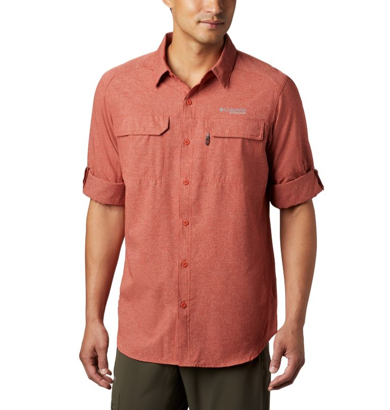 Irico™ Men's Long Sleeve Shirt | 835 | S Chemise Irico™ Homme, Carnelian Red, a4
