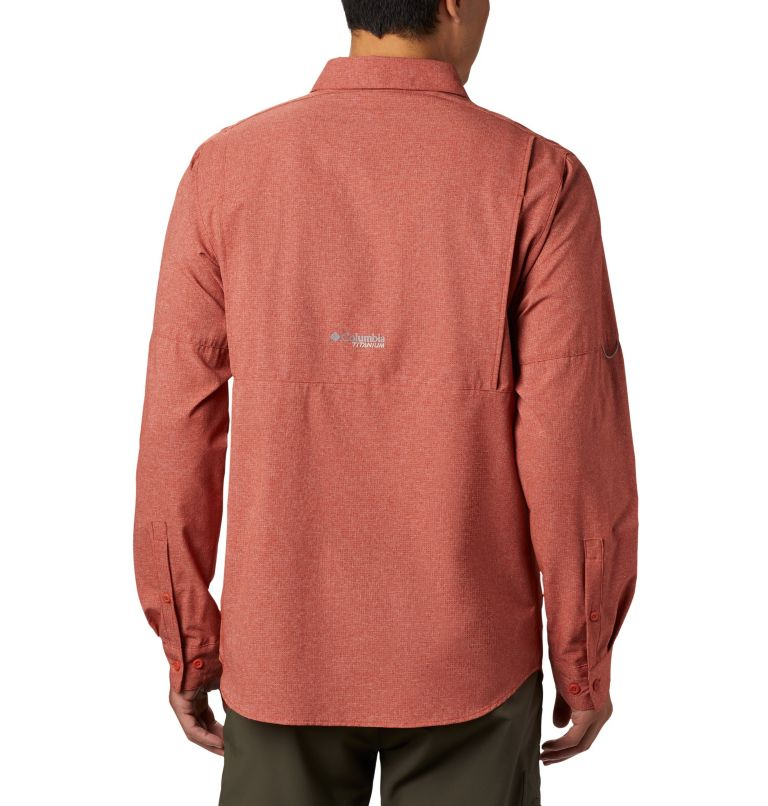 Irico™ Men's Long Sleeve Shirt | 835 | S Chemise Irico™ Homme, Carnelian Red, back