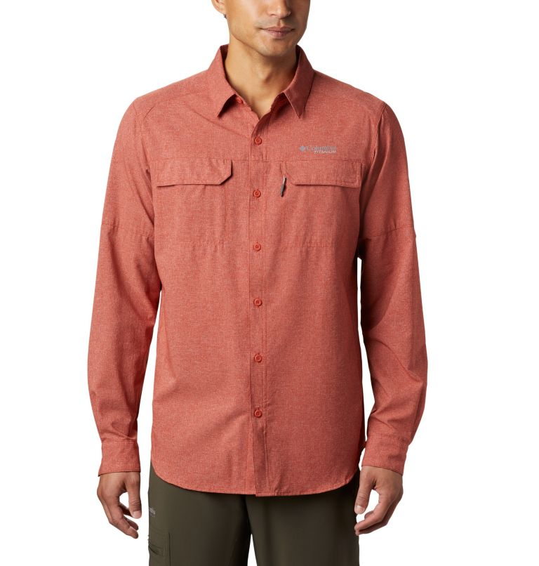 Irico™ Men's Long Sleeve Shirt | 835 | S Chemise Irico™ Homme, Carnelian Red, front
