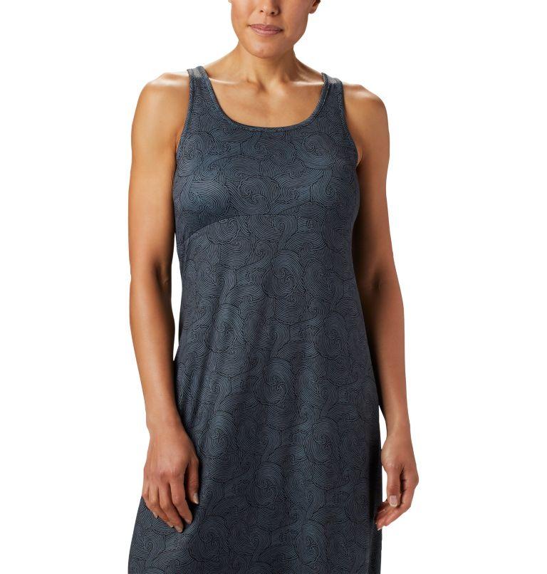 Freezer™ Maxi Dress   011   S Women's PFG Freezer™ Maxi Dress, Black Seaside Swirls Print, a1