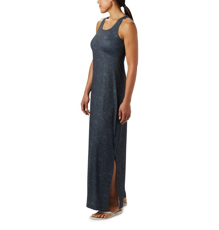 Freezer™ Maxi Dress | 011 | XS Women's PFG Freezer™ Maxi Dress, Black Seaside Swirls Print, a2