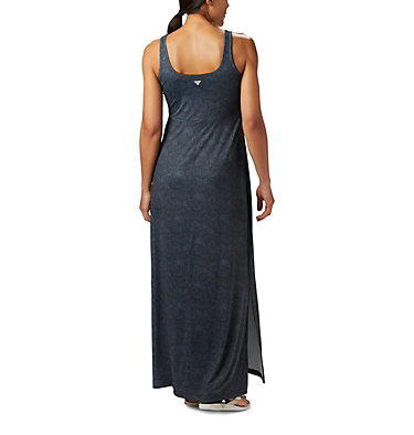 Women's PFG Freezer™ Maxi Dress Freezer™ Maxi Dress | 356 | L, Black Seaside Swirls Print, back