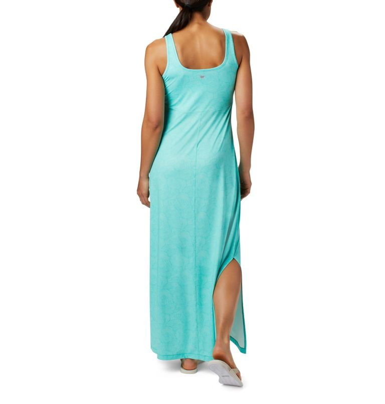 Freezer™ Maxi Dress   356   L Women's PFG Freezer™ Maxi Dress, Dolphin Seaside Swirls Print, back