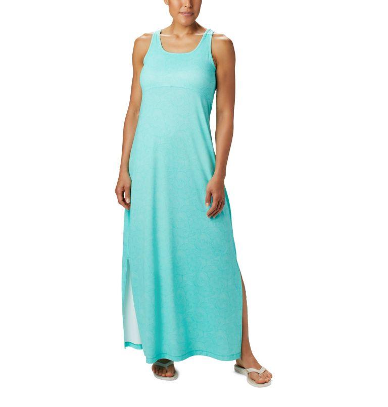 Freezer™ Maxi Dress   356   L Women's PFG Freezer™ Maxi Dress, Dolphin Seaside Swirls Print, front
