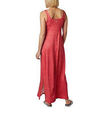 Women's PFG Freezer™ Maxi Dress Freezer™ Maxi Dress | 658 | S, Red Lily Seaside Swirls Print, back