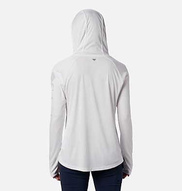 Chandail à capuchon Tidal Tee™ pour femme Tidal Tee™ Hoodie | 658 | S, White, Cirrus Grey Logo, back