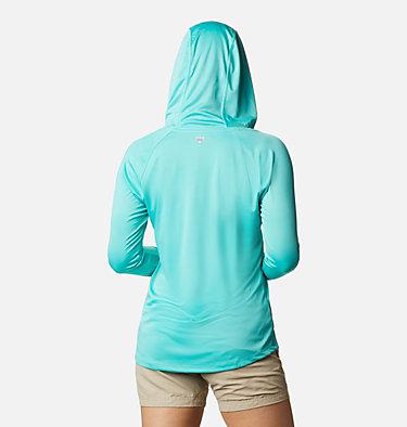 Women's PFG Tidal Tee™ Hoodie Tidal Tee™ Hoodie   463   L, Dolphin, White Logo, back