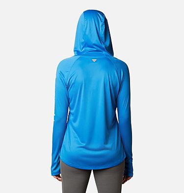 Women's PFG Tidal Tee™ Hoodie Tidal Tee™ Hoodie   463   L, Azure Blue, Air Logo, back