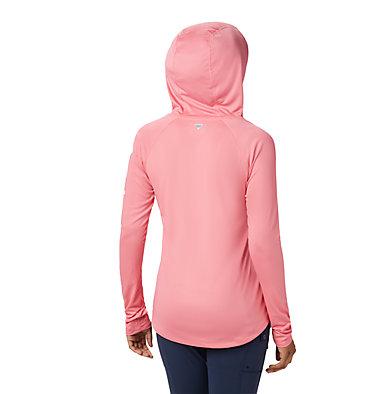 Women's PFG Tidal Tee™ Hoodie Tidal Tee™ Hoodie   463   L, Lollipop, White Logo, back