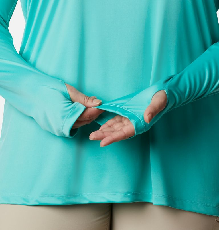 Women's PFG Tidal Tee™ Hoodie - Plus Size Women's PFG Tidal Tee™ Hoodie - Plus Size, a4