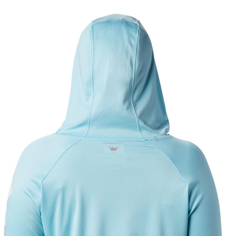 Tidal Tee™ Hoodie | 459 | 2X Women's PFG Tidal Tee™ Hoodie - Plus Size, Clear Blue, White Logo, a2