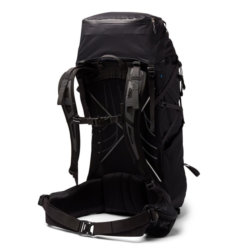 Trail Elite™ 55L Backpack | 011 | O/S Trail Elite™ 55L Backpack, Black, Shark, back