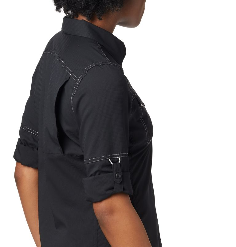 Lo Drag™ Long Sleeve Shirt | 010 | XS Women's PFG Lo Drag™ Long Sleeve Shirt, Black, a1