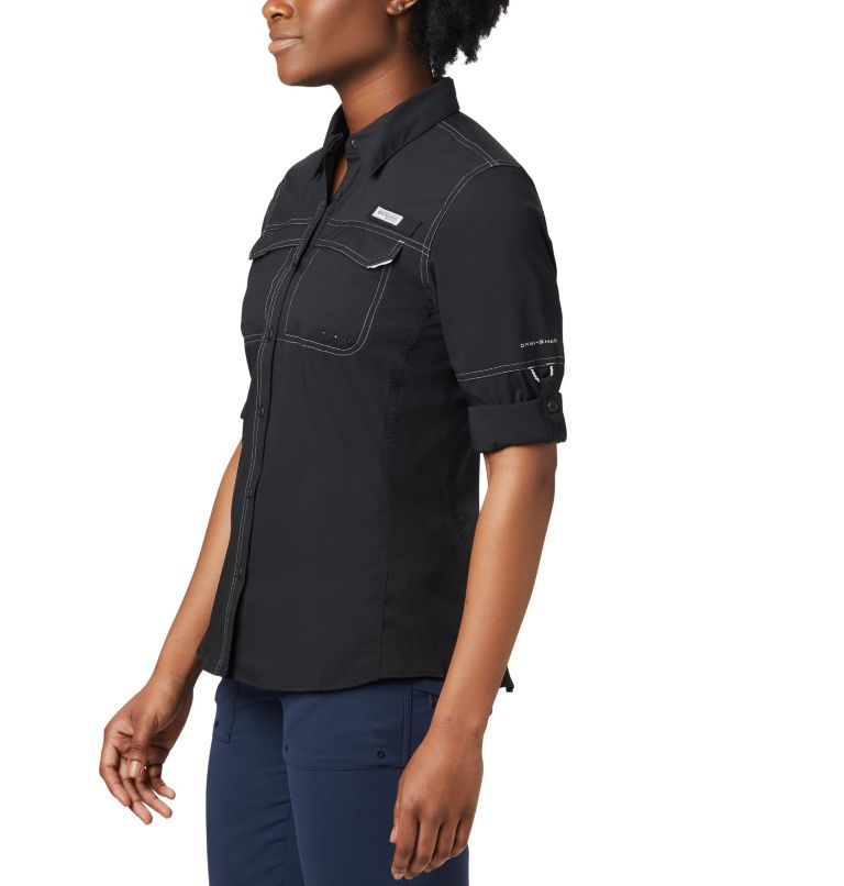 Lo Drag™ Long Sleeve Shirt | 010 | XS Women's PFG Lo Drag™ Long Sleeve Shirt, Black, a2