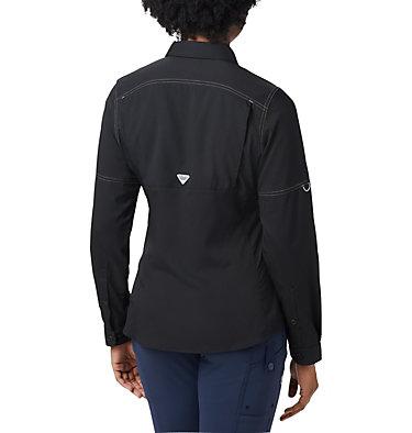Women's PFG Lo Drag™ Long Sleeve Shirt Lo Drag™ Long Sleeve Shirt | 917 | L, Black, back