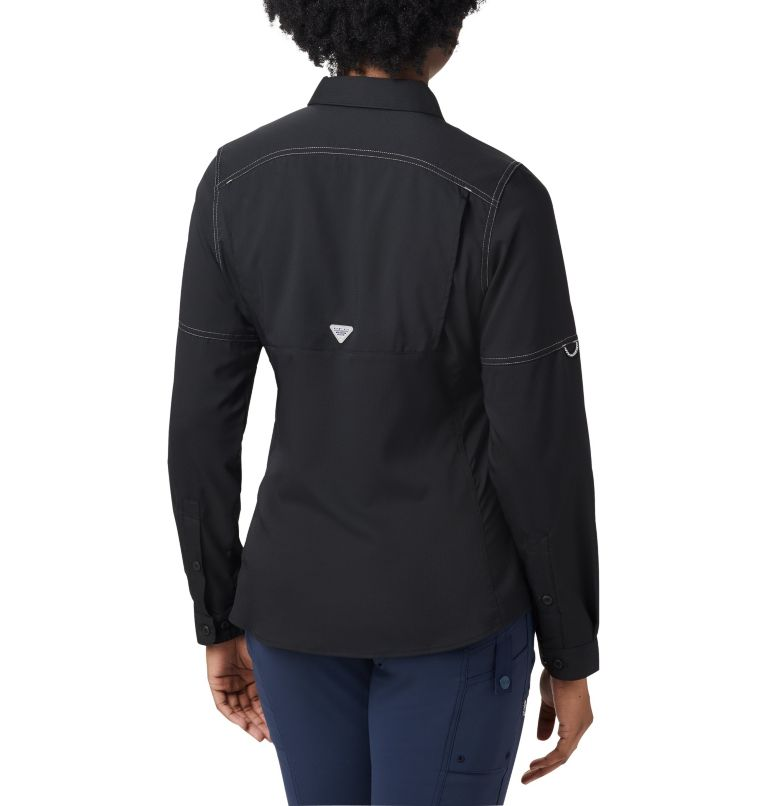 Lo Drag™ Long Sleeve Shirt | 010 | XS Women's PFG Lo Drag™ Long Sleeve Shirt, Black, back
