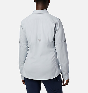 Women's PFG Lo Drag™ Long Sleeve Shirt Lo Drag™ Long Sleeve Shirt | 917 | L, Cirrus Grey, back