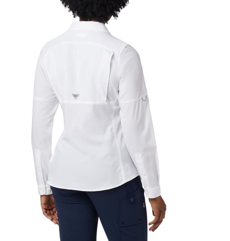 Lo Drag™ Long Sleeve Shirt | 100 | XL Women's PFG Lo Drag™ Long Sleeve Shirt, White, back