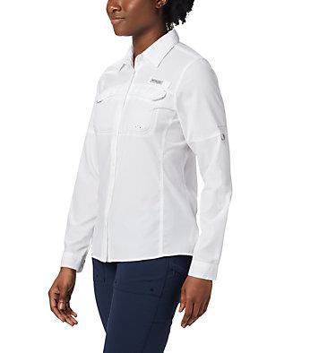 Women's PFG Lo Drag™ Long Sleeve Shirt Lo Drag™ Long Sleeve Shirt | 917 | L, White, front