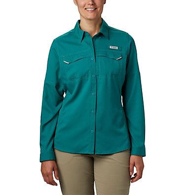 Women's PFG Lo Drag™ Long Sleeve Shirt Lo Drag™ Long Sleeve Shirt | 917 | L, Waterfall, front