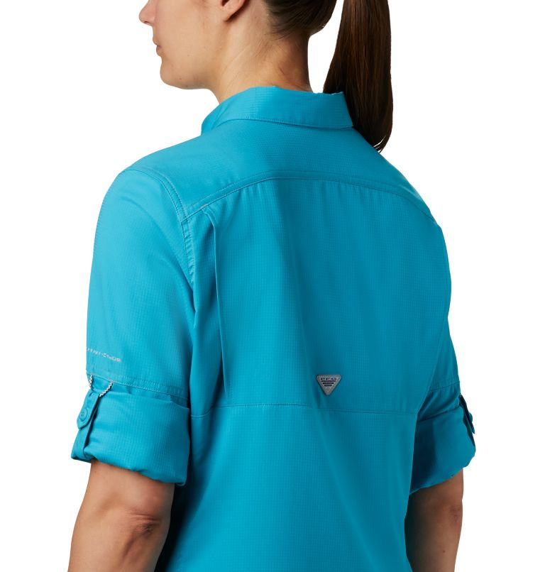 Lo Drag™ Long Sleeve Shirt | 450 | M Women's PFG Lo Drag™ Long Sleeve Shirt, Clear Water, a2