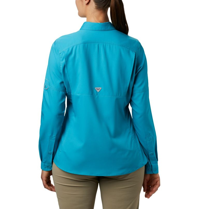 Lo Drag™ Long Sleeve Shirt | 450 | XS Women's PFG Lo Drag™ Long Sleeve Shirt, Clear Water, back