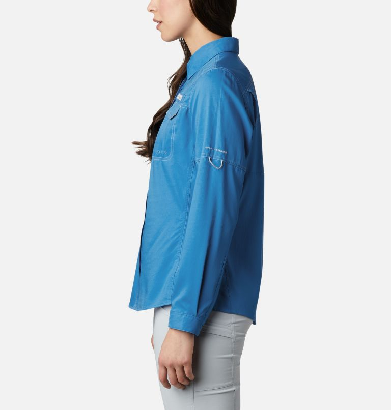 Lo Drag™ Long Sleeve Shirt | 463 | M Women's PFG Lo Drag™ Long Sleeve Shirt, Azure Blue, a1