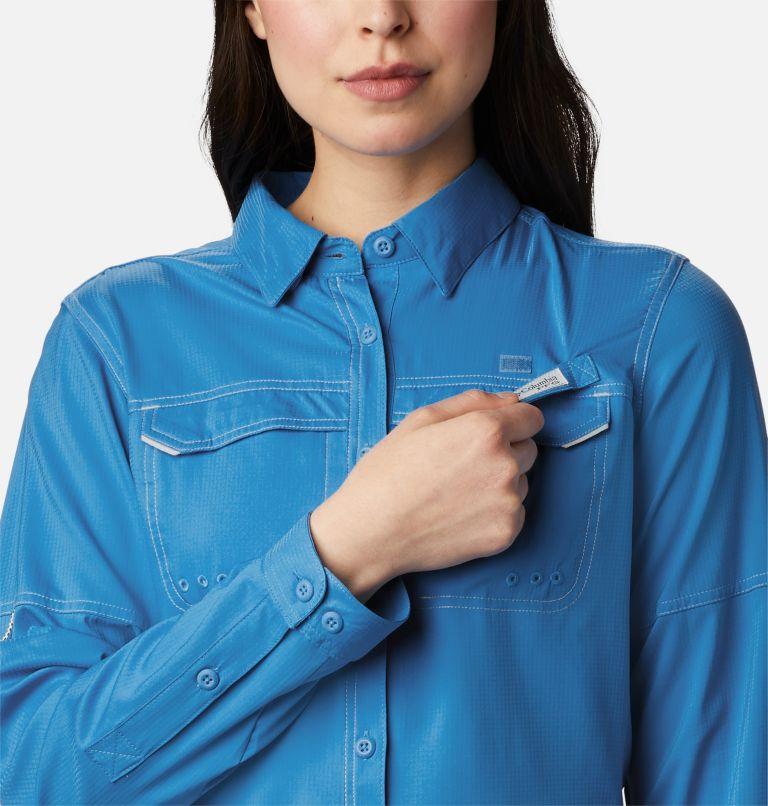 Lo Drag™ Long Sleeve Shirt | 463 | M Women's PFG Lo Drag™ Long Sleeve Shirt, Azure Blue, a2