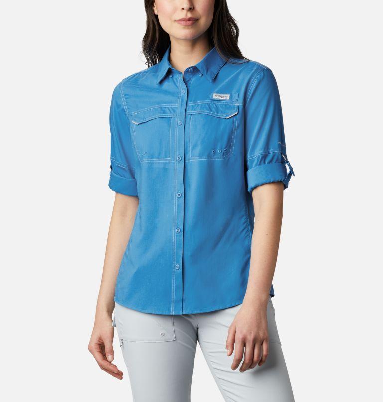 Lo Drag™ Long Sleeve Shirt | 463 | M Women's PFG Lo Drag™ Long Sleeve Shirt, Azure Blue, a4