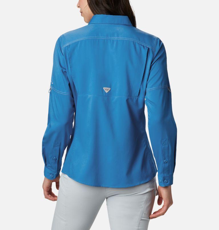 Lo Drag™ Long Sleeve Shirt | 463 | M Women's PFG Lo Drag™ Long Sleeve Shirt, Azure Blue, back