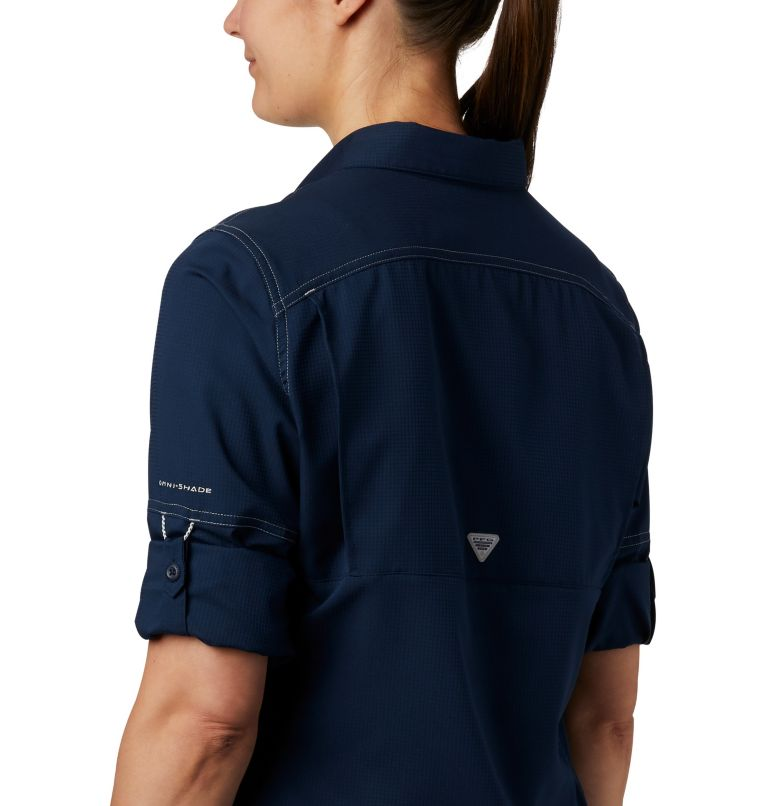 Lo Drag™ Long Sleeve Shirt | 464 | XS Women's PFG Lo Drag™ Long Sleeve Shirt, Collegiate Navy, a2