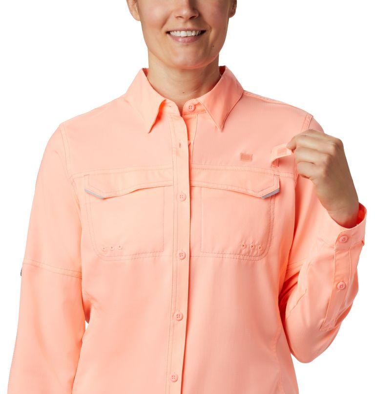 Lo Drag™ Long Sleeve Shirt | 884 | XS Women's PFG Lo Drag™ Long Sleeve Shirt, Tiki Pink, a3