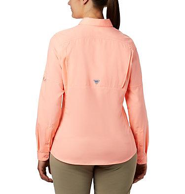 Women's PFG Lo Drag™ Long Sleeve Shirt Lo Drag™ Long Sleeve Shirt | 917 | L, Tiki Pink, back